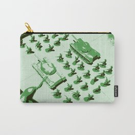 GREEN BATTALLION ON THE MARCH Carry-All Pouch
