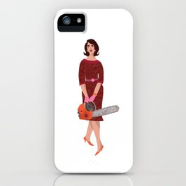 Chainsaw Madge iPhone Case