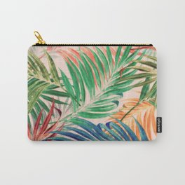 Palm Leaves in color Carry-All Pouch
