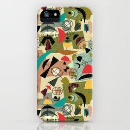 Green Eggs & Ham - Mid-Century iPhone Case