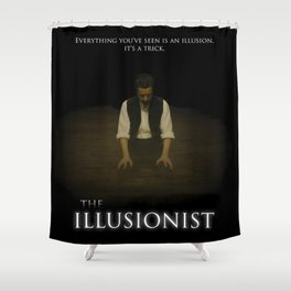 The Illusionist Shower Curtain