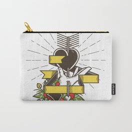 From the Heart Carry-All Pouch