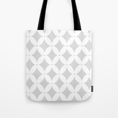 Abstract pattern - gray and white. Tote Bag