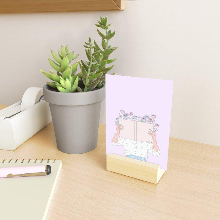 Read All About It Mini Art Print