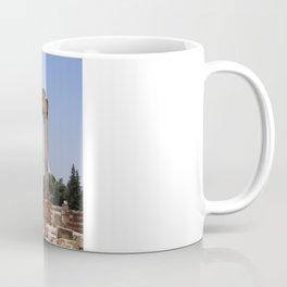 Ruins - Pillars & Mountains  Coffee Mug