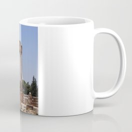 Ruins - Pillars & Mountains  Coffee Mug