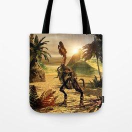 Tyrannosaurus skeleton Tote Bag