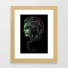 Queen of Blades Framed Art Print