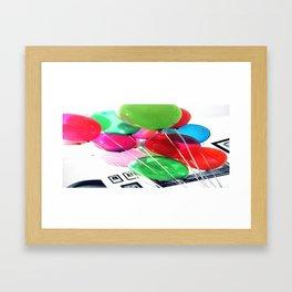 Balloons~ Framed Art Print