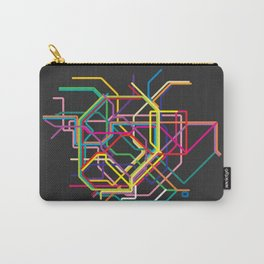 tokyo metro map Carry-All Pouch
