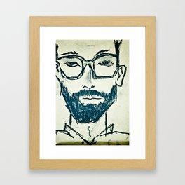 William Wanderlust Framed Art Print