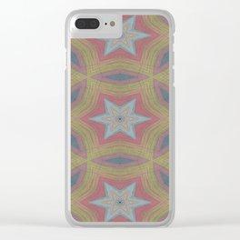 Ann Arbor chalk 6233 Clear iPhone Case