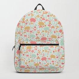 Spring Hedgehog Forest Backpack
