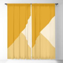 Mustard Tones Blackout Curtain