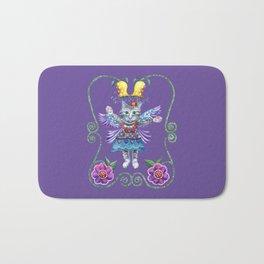 Angel Kitty (Purple) Bath Mat