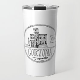 Palazzo Comunale, Cortona Travel Mug