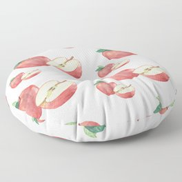 Apple and a Half Floor Pillow