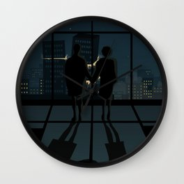 A very strange time Wall Clock