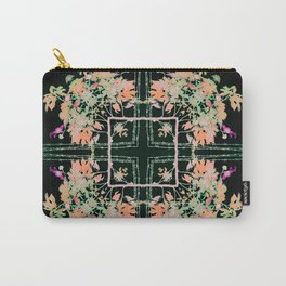 Neon Mirrored Trees 5 Carry-All Pouch
