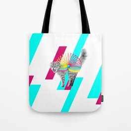 Slinky Cat Tote Bag