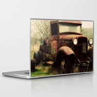 ford Laptop & iPad Skins featuring Vintage Ford by Urban Frame Photography