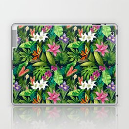 Tropical Lush Sanctuary, A Bohemian Paradise Laptop & iPad Skin