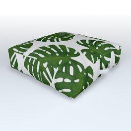 Monstera Leaf III Outdoor Floor Cushion