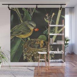 Birdie likes Wall Mural