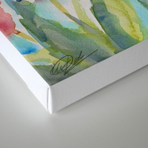 Tulips (watercolor) Canvas Print