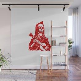 Grim Reaper With Guitar Wall Mural
