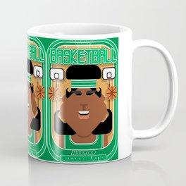 Basketball Green - Alleyoop Buzzerbeater - Aretha version Coffee Mug
