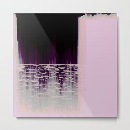 40hz: Glass Metal Print