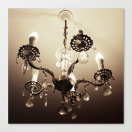 electric candelabrum Canvas Print