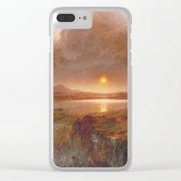 Frederic Edwin Church - Cotopaxi Clear iPhone Case