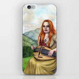 The Song Of The Mountains iPhone Skin