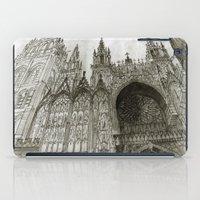 takmaj iPad Cases featuring Rouen facade by takmaj