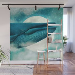 Dream of the Blue Whale Wall Mural