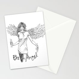 Be an Angel Stationery Cards