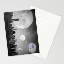 Surreal New York  Stationery Cards