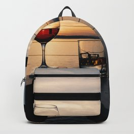 Wine and Whiskey Eve Backpack