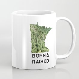 Minnesota - Born & Raised Coffee Mug