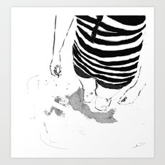 Black & White Study - 1 Art Print