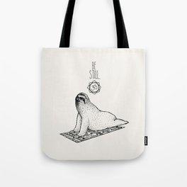 Sloth Be Still Tote Bag