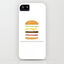 Everything Will Fall into Place iPhone Case