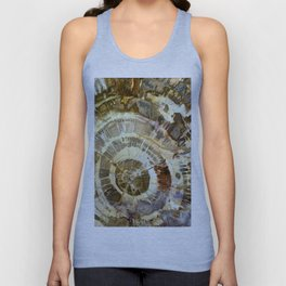 Abstract mineral texture Unisex Tank Top