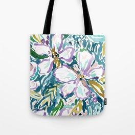 MONTEREY FLORAL Tote Bag