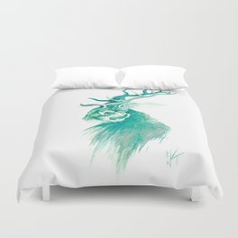 From the Forest Primeval Duvet Cover