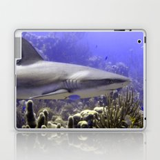 Shark Swimming Past Laptop & iPad Skin