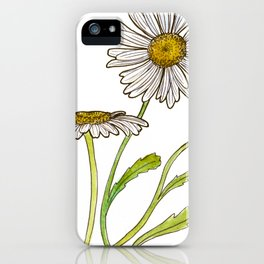 tea botanicals   Chamomile // relaxing herbal iPhone Case