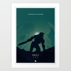 Halo 4 Poster 1 Art Print